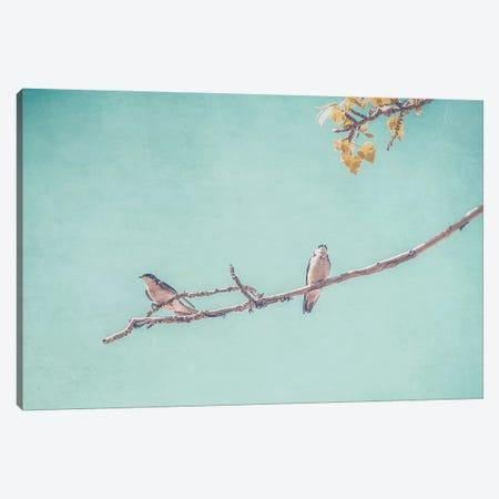 The Pair Canvas Print #ABA94} by Little Cabin Art Prints Art Print
