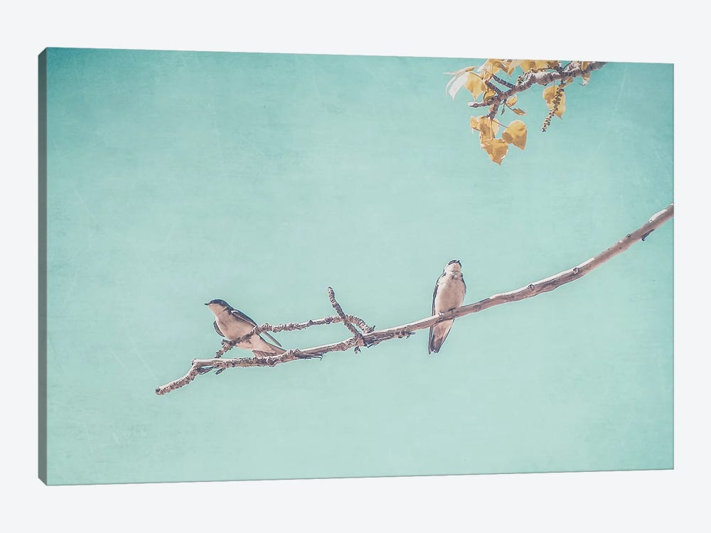 The Pair by Little Cabin Art Prints 1-piece Canvas Wall Art