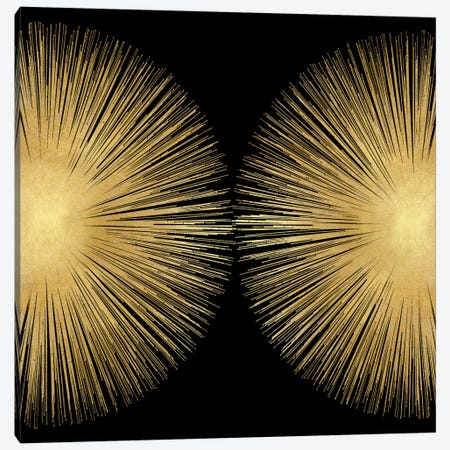 Sunburst On Black II 3-Piece Canvas #ABB20} by Abby Young Canvas Artwork