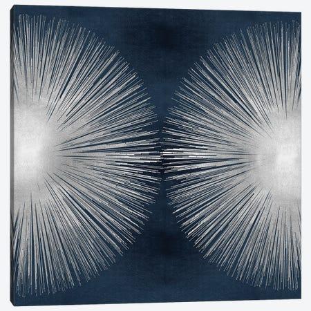 Sunburst On Dark Blue II Canvas Print #ABB29} by Abby Young Canvas Artwork