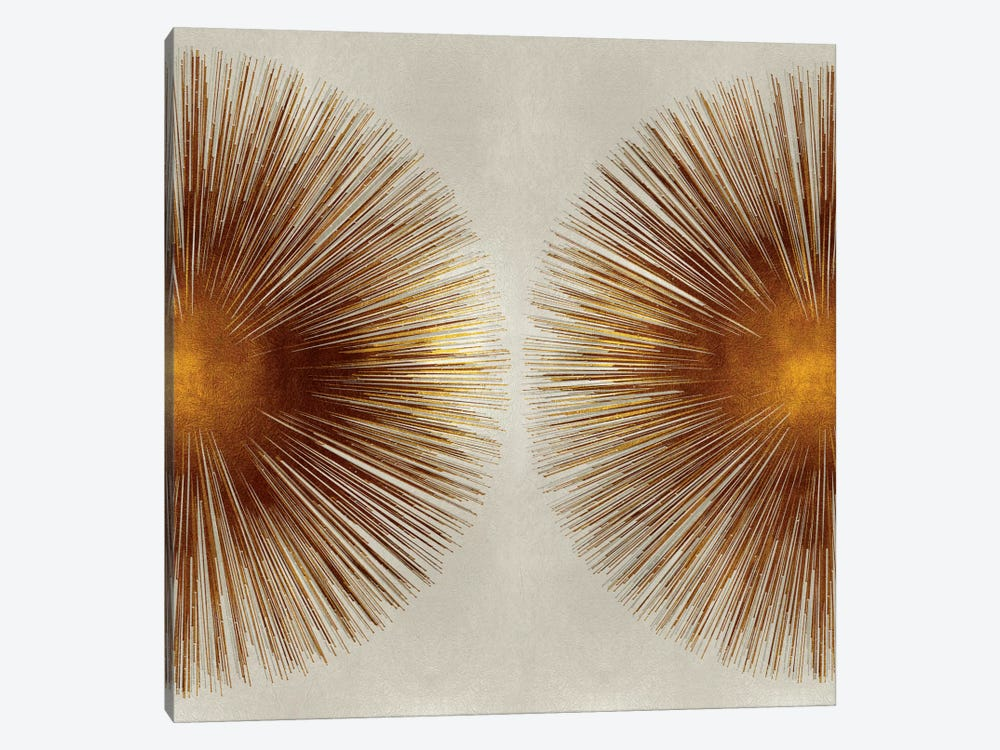 Bronze Sunburst II by Abby Young 1-piece Canvas Artwork