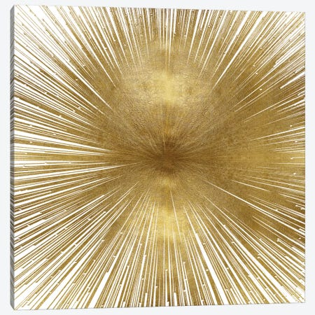 Radiant Gold Canvas Print #ABB8} by Abby Young Canvas Wall Art