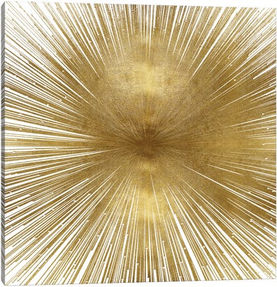Radiant Gold Canvas Art Print