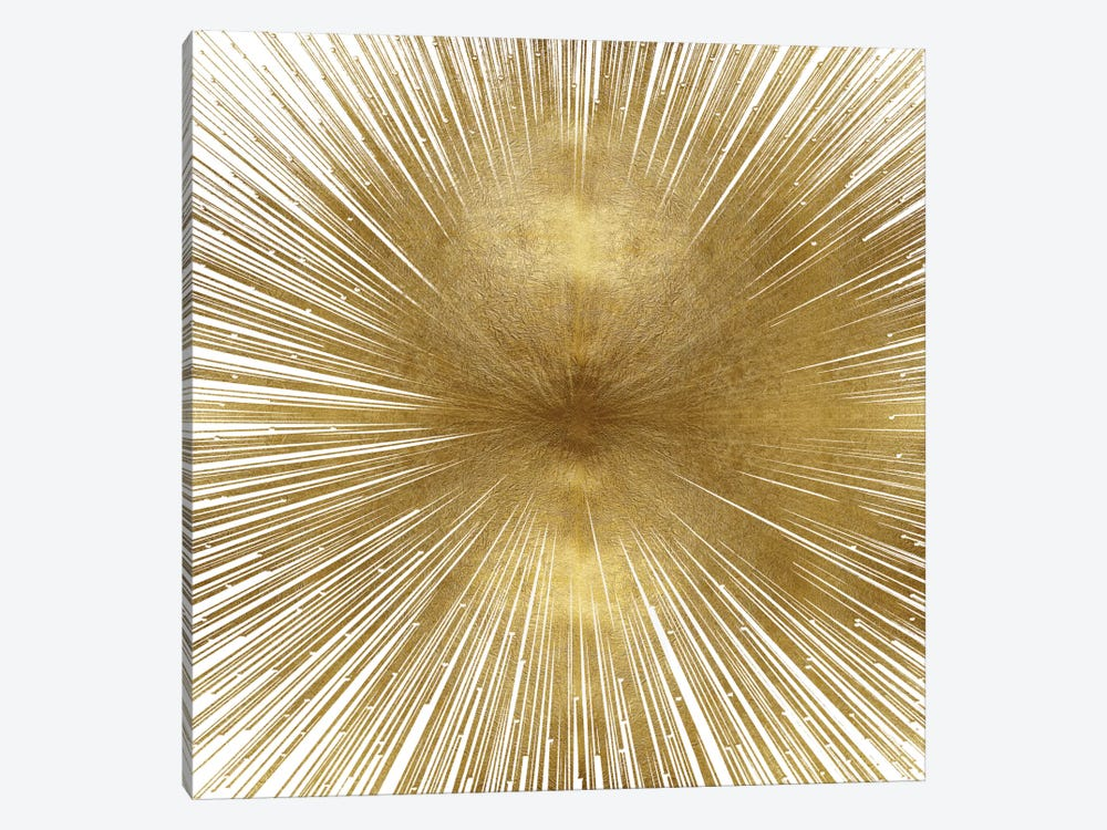Radiant Gold by Abby Young 1-piece Canvas Wall Art
