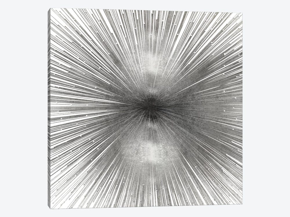 Radiant Silver by Abby Young 1-piece Canvas Art Print