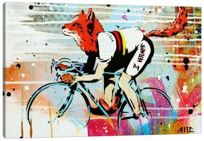 Le Fox Canvas Art Print