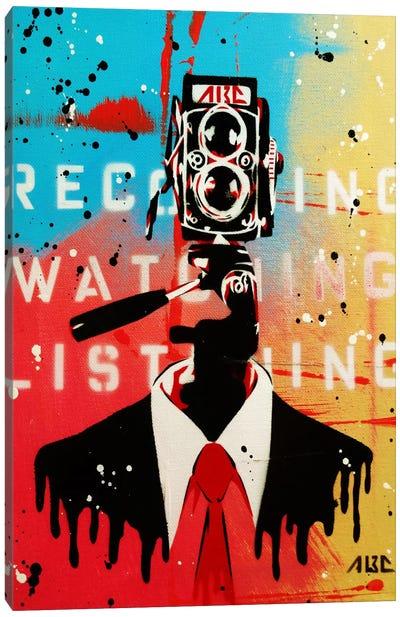 NSA Camera Man Canvas Art Print