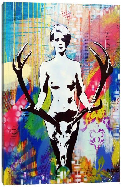Racked Canvas Art Print