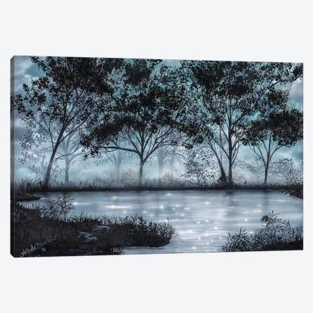 Moonlit Dream Canvas Print #ABD16} by Angela Bawden Canvas Wall Art