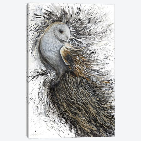 Perched Canvas Print #ABD18} by Angela Bawden Canvas Print