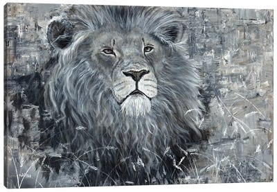 Power Of The Pride Lion Canvas Art Print