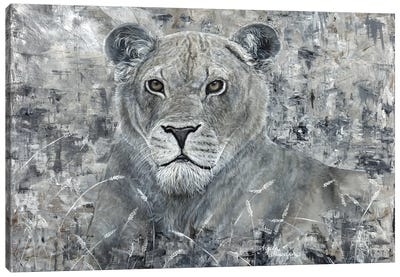 Power Of The Pride Lioness Canvas Art Print