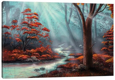 Serenity Forest Canvas Art Print