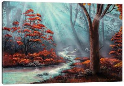 Serenity Forest Canvas Art Print