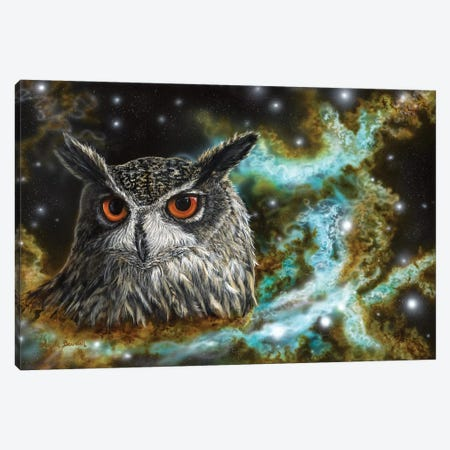 Spirit Of The Night Canvas Print #ABD25} by Angela Bawden Canvas Print
