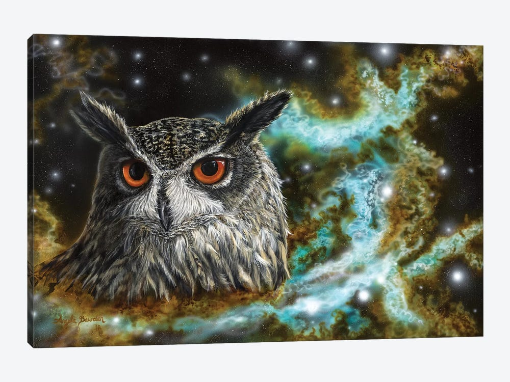 Spirit Of The Night by Angela Bawden 1-piece Canvas Art