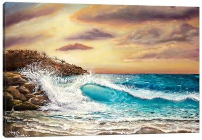 Sunset Shores Canvas Art Print