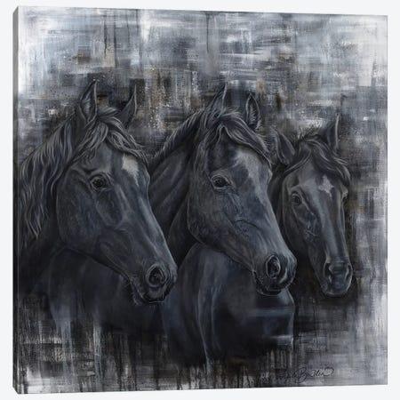 Trine Equine Canvas Print #ABD28} by Angela Bawden Canvas Artwork