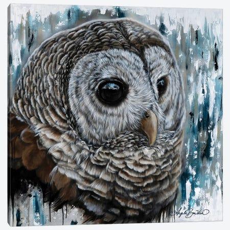 Mysterious Eyes Canvas Print #ABD31} by Angela Bawden Canvas Art Print