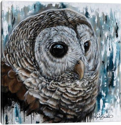 Mysterious Eyes Canvas Art Print
