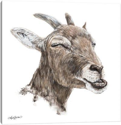 Bill The Goat Canvas Art Print