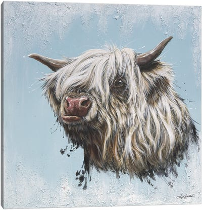 Chewy Coo Canvas Art Print