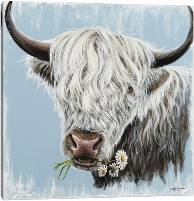 Daisy Coo Canvas Art Print