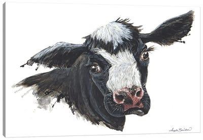 Daisy The Dairy Cow Canvas Art Print