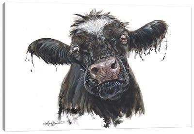 Doris The Dairy Cow Canvas Art Print