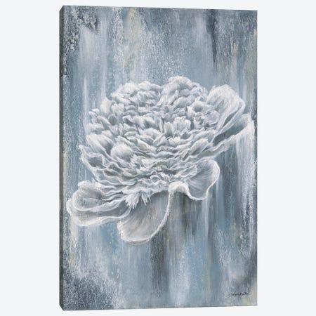 Peony Blues Canvas Print #ABD49} by Angela Bawden Canvas Art