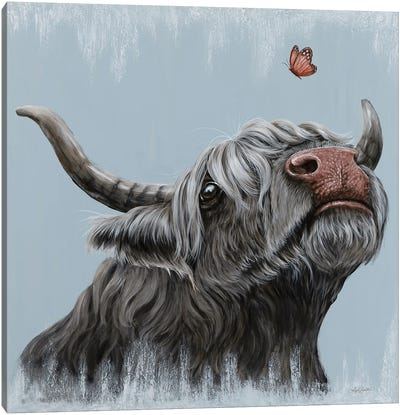 Sniffles Canvas Art Print
