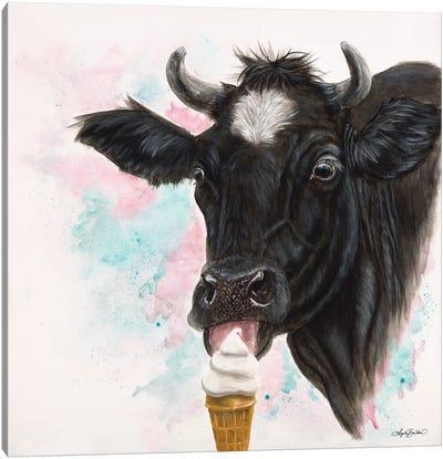 Moo Creama Licious Canvas Art Print
