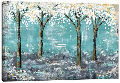 Forest Blues Canvas Art Print