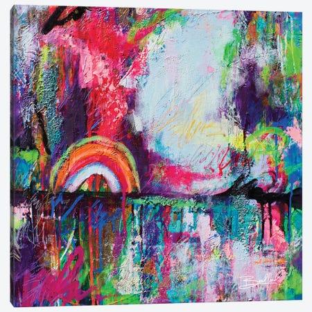 Colorful Dreams Canvas Print #ABF3} by Abby Bradford Canvas Artwork
