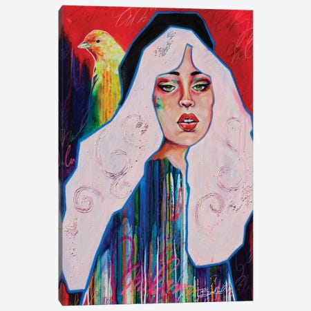 Declare Canvas Print #ABF4} by Abby Bradford Canvas Print