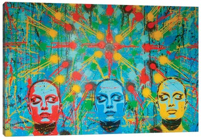 Kaleidoscope Dreamers Canvas Art Print