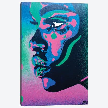 Kiss Series II Spots Canvas Print #ABG128} by Abstract Graffiti Canvas Wall Art