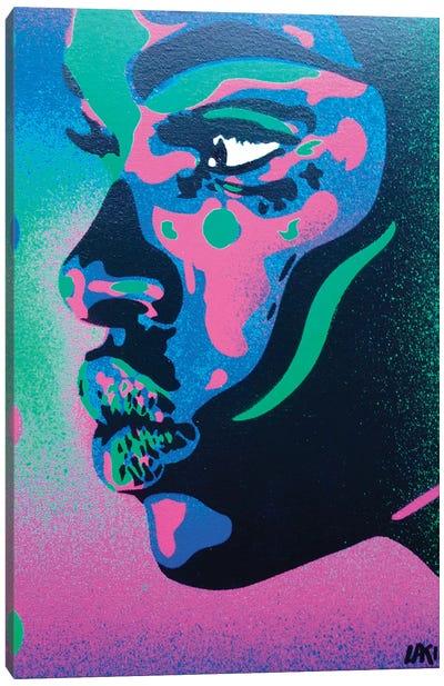 Kiss Series II Spots Canvas Art Print