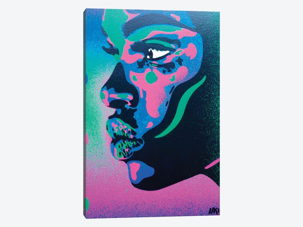 Kiss Series II Spots by Abstract Graffiti 1-piece Art Print