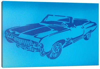 Muscle Car I Canvas Art Print