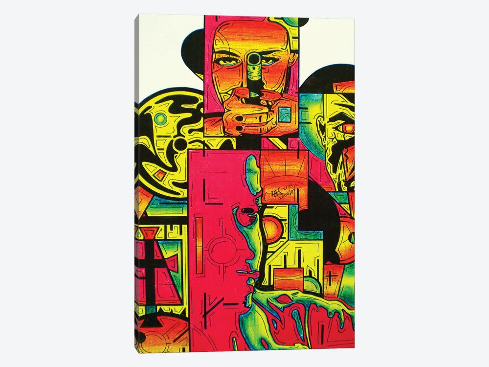 Pulp Fiction by Abstract Graffiti 1-piece Canvas Artwork