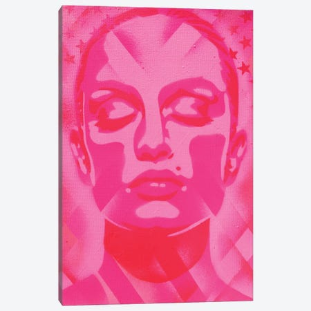 Skin Deep Pinks Canvas Print #ABG216} by Abstract Graffiti Canvas Art Print