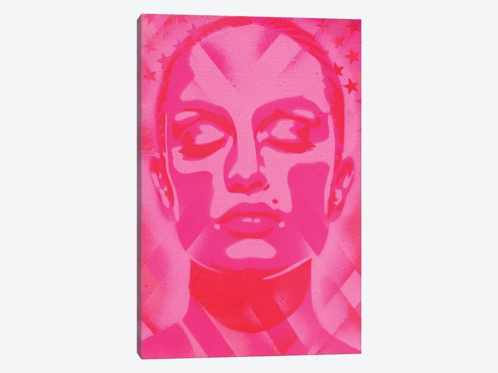 Skin Deep Pinks by Abstract Graffiti 1-piece Canvas Art