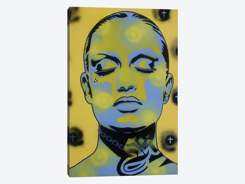 Skin Deep Street by Abstract Graffiti 1-piece Canvas Art