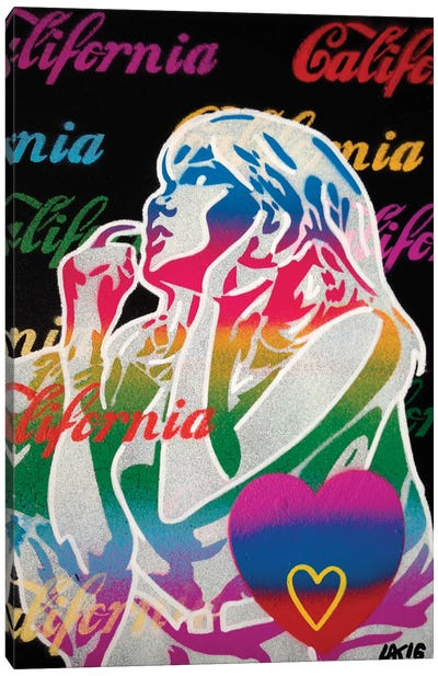 California Love I Canvas Art Print