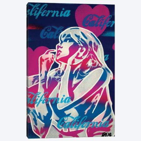 California Love II Canvas Print #ABG58} by Abstract Graffiti Canvas Artwork