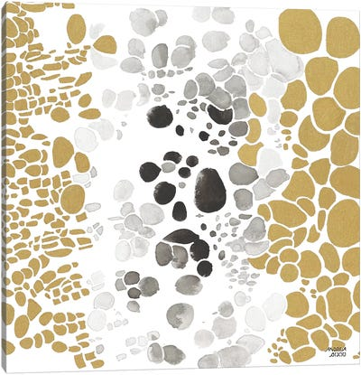 Speckled Trio III Canvas Art Print