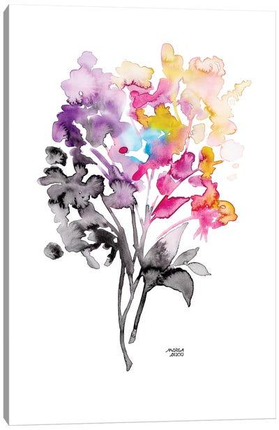 Colorful Bouquet Canvas Art Print