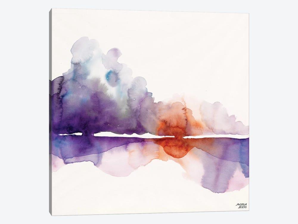 Purple Sun by Andrea Bijou 1-piece Canvas Art