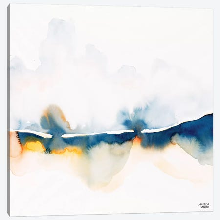 Rain on Fire Canvas Print #ABI8} by Andrea Bijou Art Print
